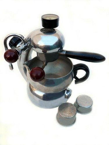 1950s Atomic Coffee Maker Espresso Machine Designed by joevintage