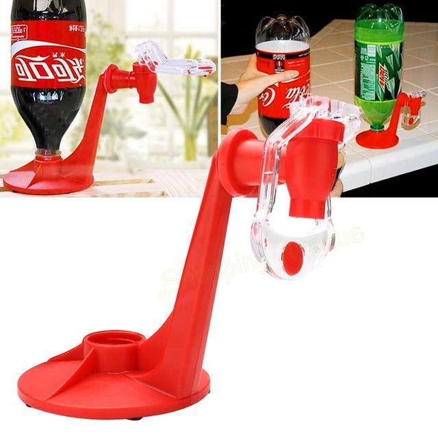 Máquinas de bebidas Revés Bebederos Bebida de Cola Bebedores de Interruptores de Presión de la Mano Dispensador de Agua Interruptor Automático