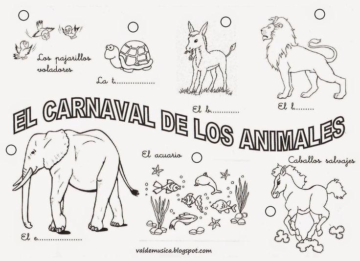 VALDEMÚSICA: EL CARNAVAL DE LOS ANIMALES DE CAMILLE SAINT-SAËNS
