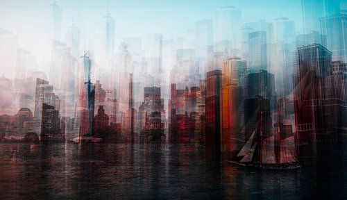 Manhattan by Carmine Chiriaco'