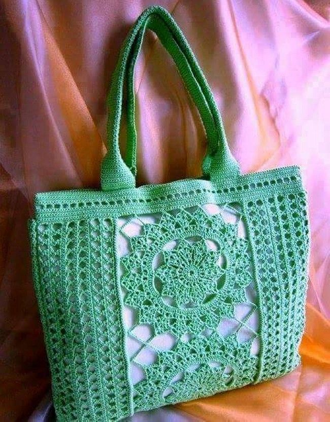 Crochet Hand Bag Pattern Collection  #CrochetBagPatterns #CrochetPatterns #CrochetBags #Crochet