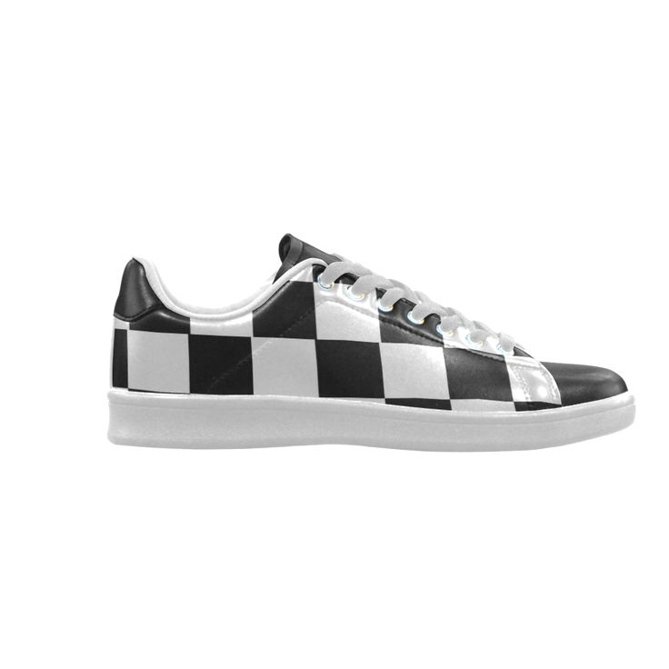 Chequered Chess Scorpius low top Sneakers (Model 023)