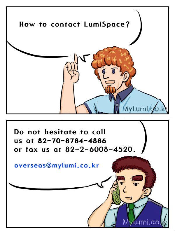 lumispace's call number