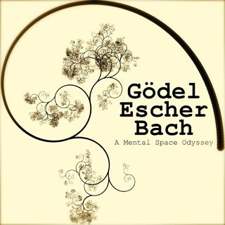 Godel, Escher, and Bach: an Eternal Golden Braid. There's a course based on the book at MIT
