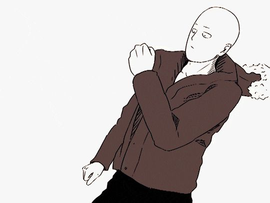 anime, one, punch, man, dance animated GIF | PopKey
