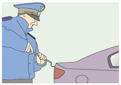Вас просят открыть капот, багажник или двери автомобиля Рекомендация…