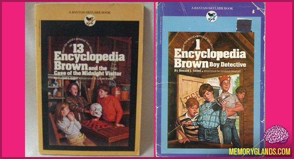 Encyclopedia Brown - loved these books growing up!