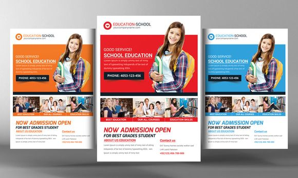 Junior School Education Flyers by Business Templates on - donation flyer template