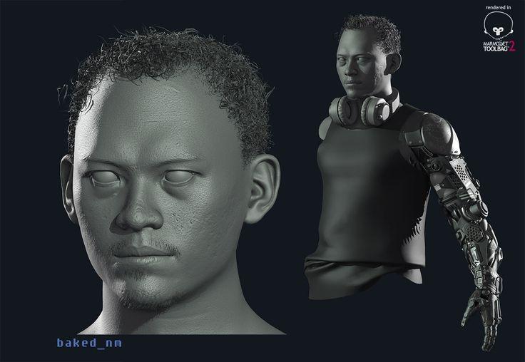 Self Human Revolution :-) another WIP, Rhangga Putra on ArtStation at http://www.artstation.com/artwork/self-human-revolution-another-wip