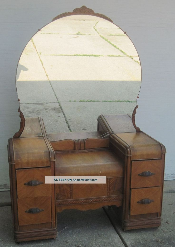 Antique Vanity Dressing Table 1900 1950 Photo In 2019