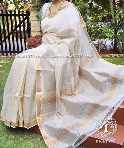 Handwoven Mangalgiri Silk Cotton Saree