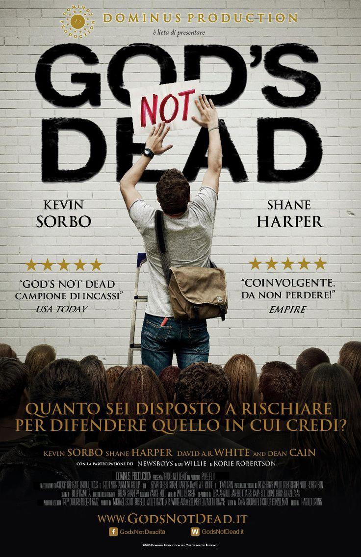 God's not dead, scheda del film di Harold Cronk con Willie Robertson e David A.R. White, leggi la trama e la recensione, guarda il trailer, scopri la data di uscita al cinema del film