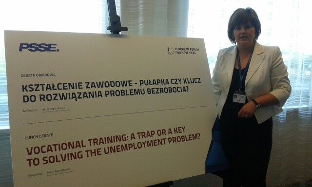 Vocational training - a trap or a key - we discuss about teaching in Europe #efni #sopot #pomorskie #Poland #new #ideas