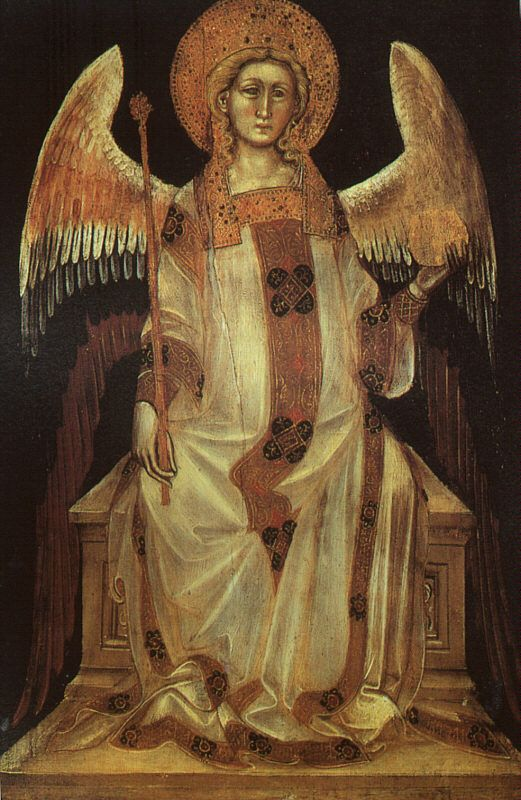 Angelo di Guariento, Angel, 1357