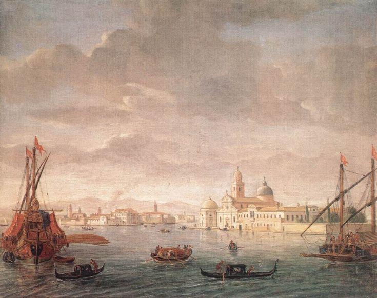 The Island of San Michele, Looking toward Murano