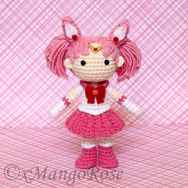 Mini Amigurumi Doll Pattern : 135 best Amigurumis: personajes de dibujos,comic y manga ...
