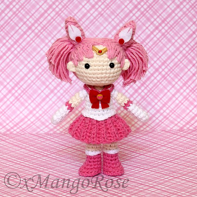 Amigurumi Chibi Doll Pattern Free : Images about amigurumi manga style dolls on