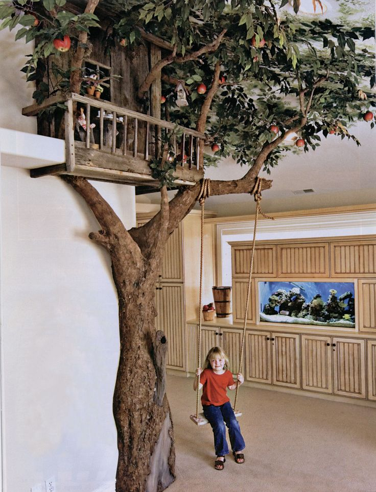indoor tree house                                                                                                                                                                                 More