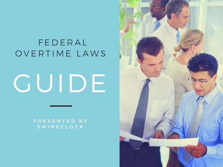 This guide to the Federal Overtime Laws reviews the steps for regulatory compliance with the Department of Labor's new Employment laws found in the Fair Labor …