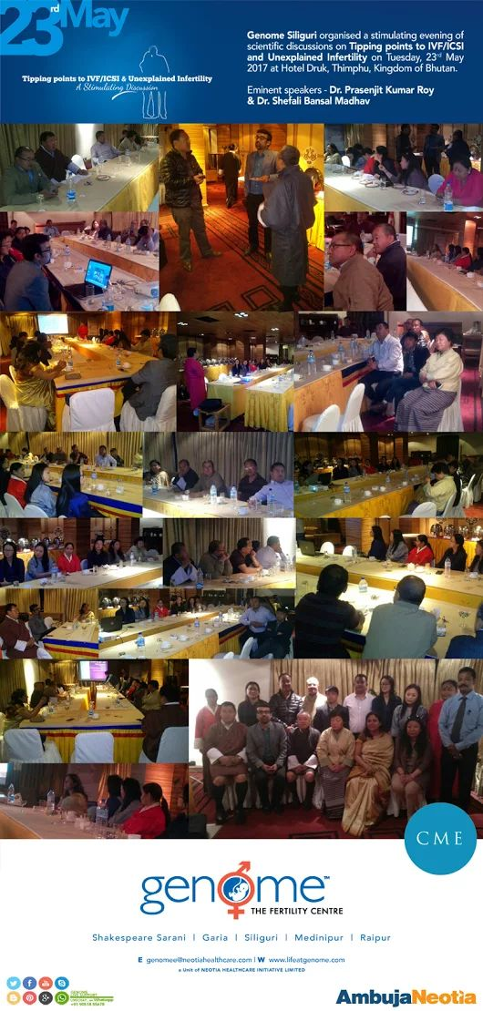 Genome's CME in #Bhutan  was a resounding success !