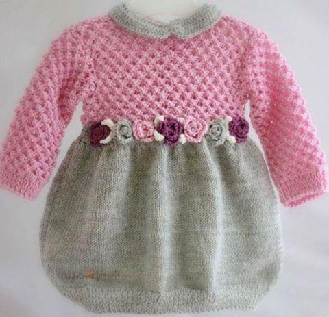 Dress crochet yarn for model Princesses Children - Crochet Free