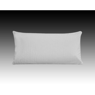 Rebrilliant Soft Talalay Latex Pillow Size: Queen