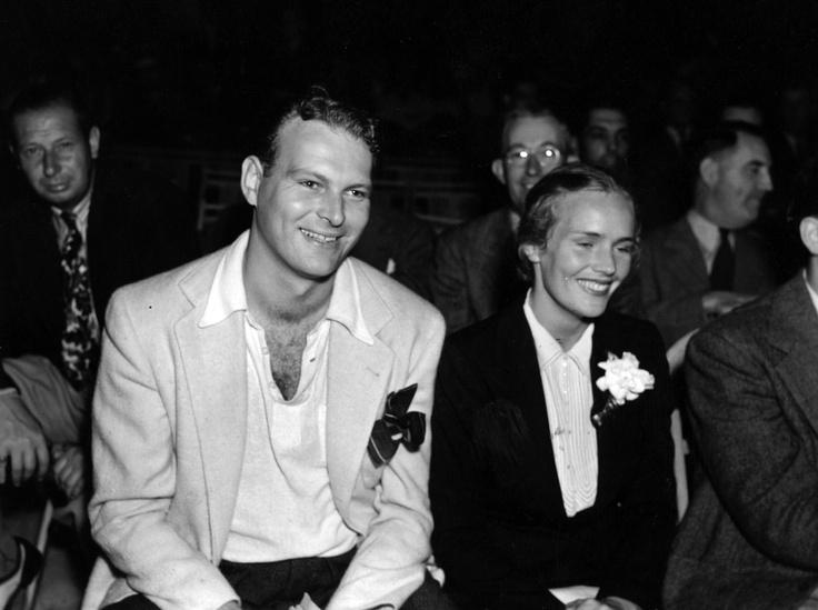 Leif Erickson And Frances Farmer