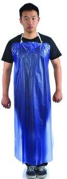 """Blue PVC Apron 35""""""""""""""""x45"""""""""""""""" Case Pack 50"""