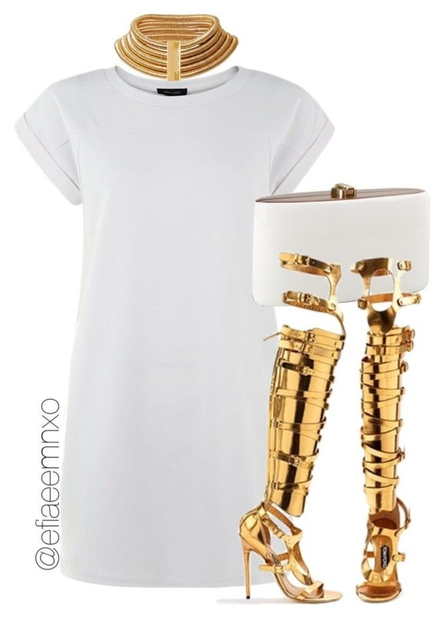 """Untitled #1056"" by efiaeemnxo ❤ liked on Polyvore featuring Tom Ford, balmain, TOMFORD, sbemnxo, styledbyemnxo and balmainxhm"