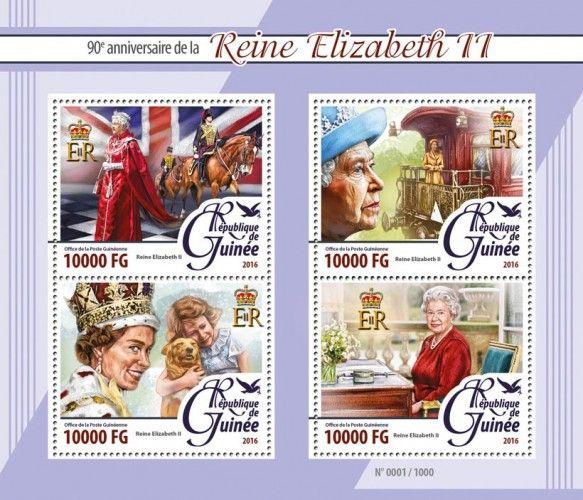 GU16106a Queen Elizabeth II (90th anniversary of the Queen Elizabeth II)