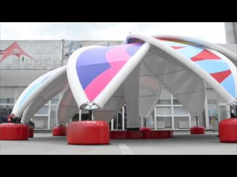 Introducing our new innovative inflatable AXION flower.    The unique design of the FLOWER is inspired by nature. Sure to grab attention at any event, promotion or festival.    For more details contact us at info@stretchstructures.com or visit www.stretchstructures.com
