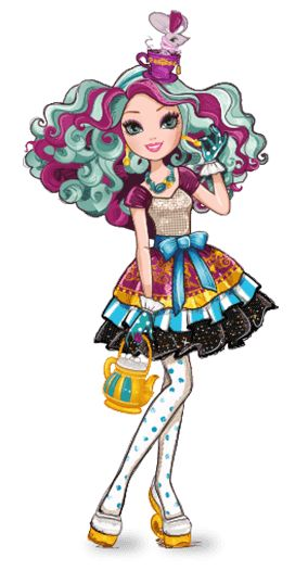 Maddie Hatter - Ever After High - daughter of the Mad Hatter
