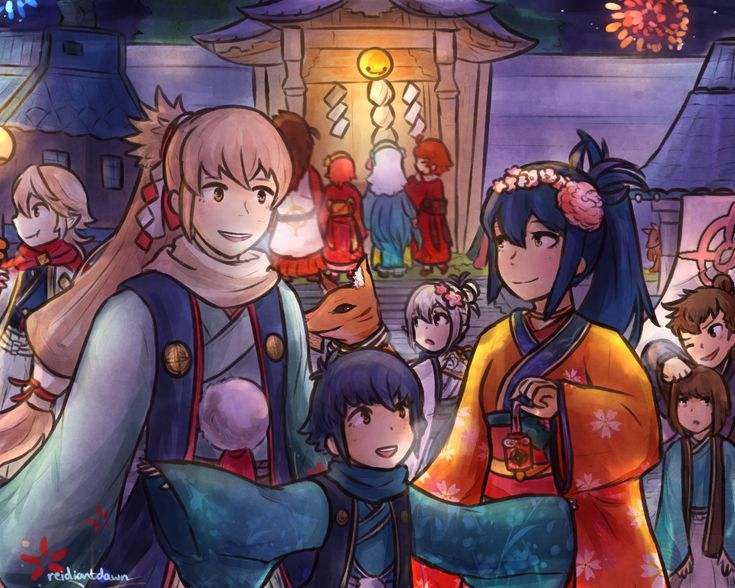 A Happy New Year from Hoshido!