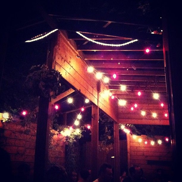Sweaty Betty's - cute local bar with nice back patio