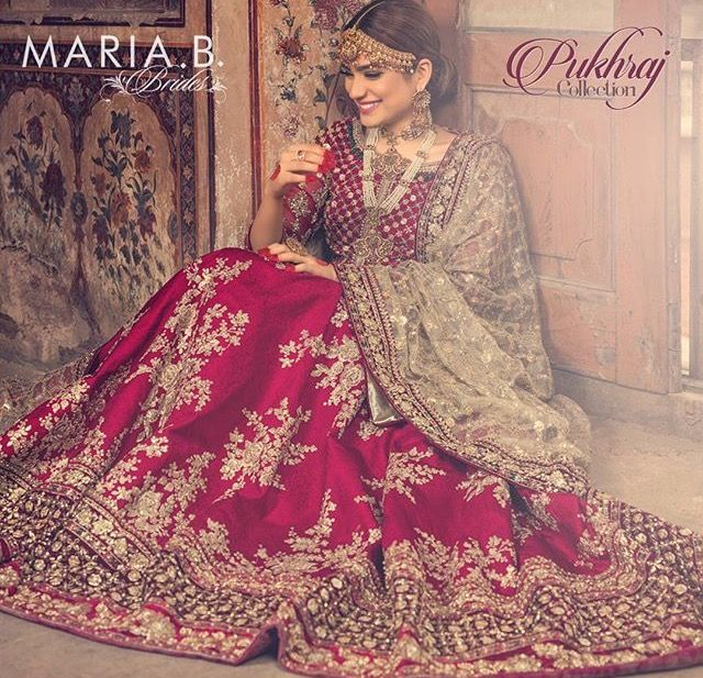 Pakistani couture by Maria B