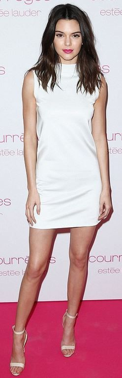 Kendall Jenner in Courreges