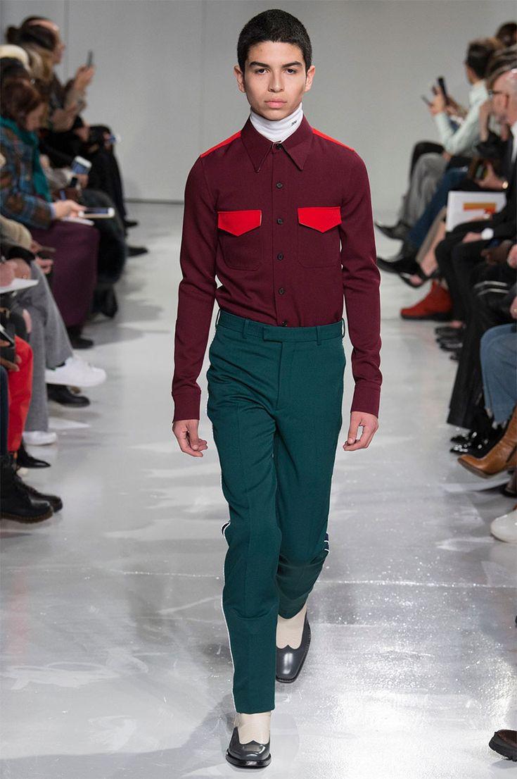 Raf Simons made his debut for Calvin Klein during New York Fashion Week.