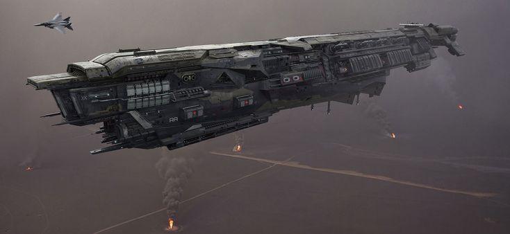 concept ships: Concept ships by Josef Anton