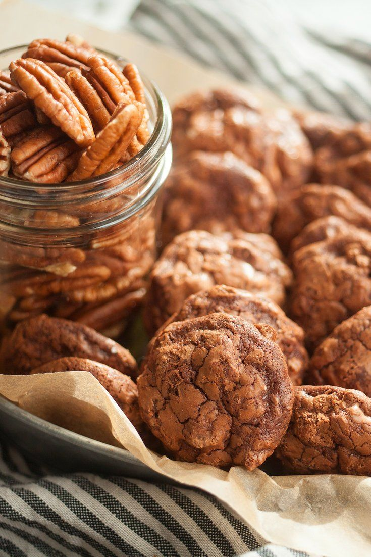 This recipe, an adaptation of a popular cookie served at Fred's restaurant in Barney's New York, the Madison Avenue department store, is rich, chewy and dotted with crunchy pecans If you're into the salty-sweet thing (who's not?), add a sprinkle of flaky sea salt a few minutes before the cookies are done baking.