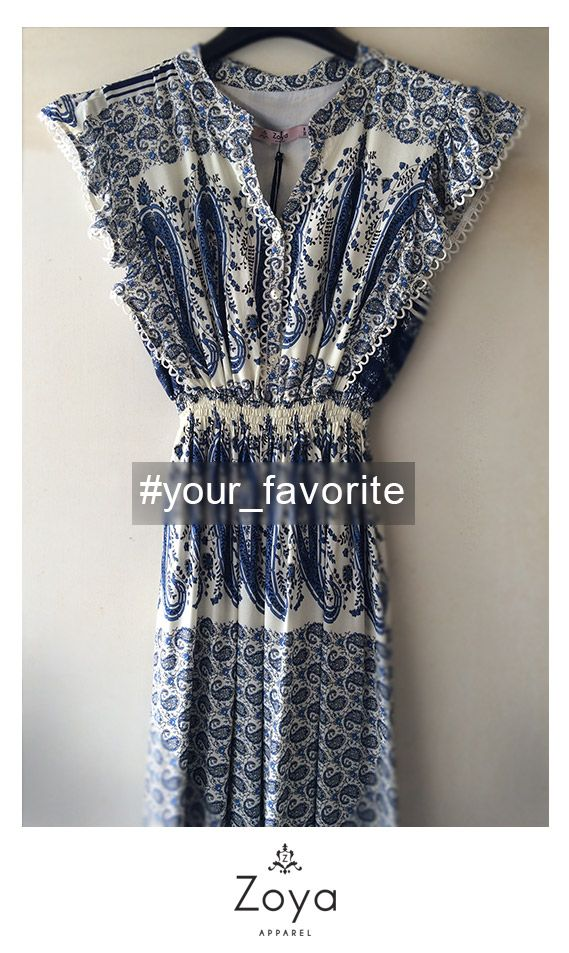 Favorite item.. your choice: Zoya SS2015! #fashion #fav #favorite #moda #trends #ss15 #ss2015 #woman #new #collection #flowy #blue #greek #design #maxi #summer