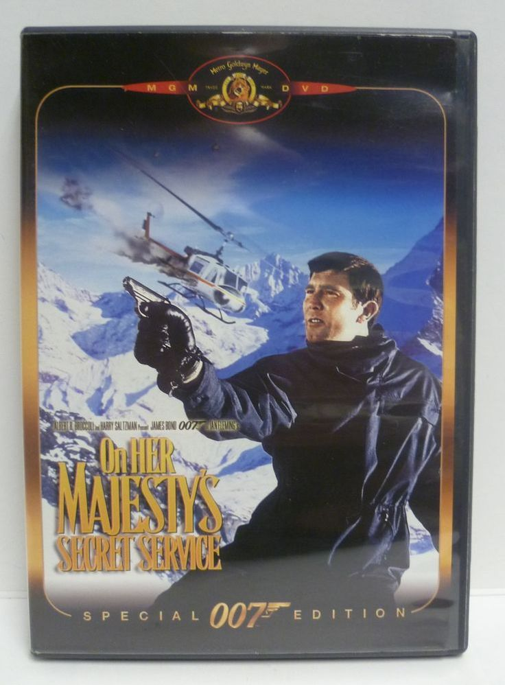 On Her Majesty's Secret Service DVD James Bond 007 Special Ed. - OOP & RARE