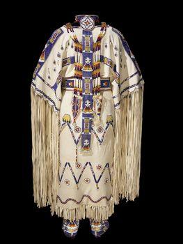 native american bead artists - Rebecca Hamilton Brady (Tookie Hamilton), Southern Tsitsistas/Suhtai (Cheyenne)/Sac and Fox (Sauk & Fox)