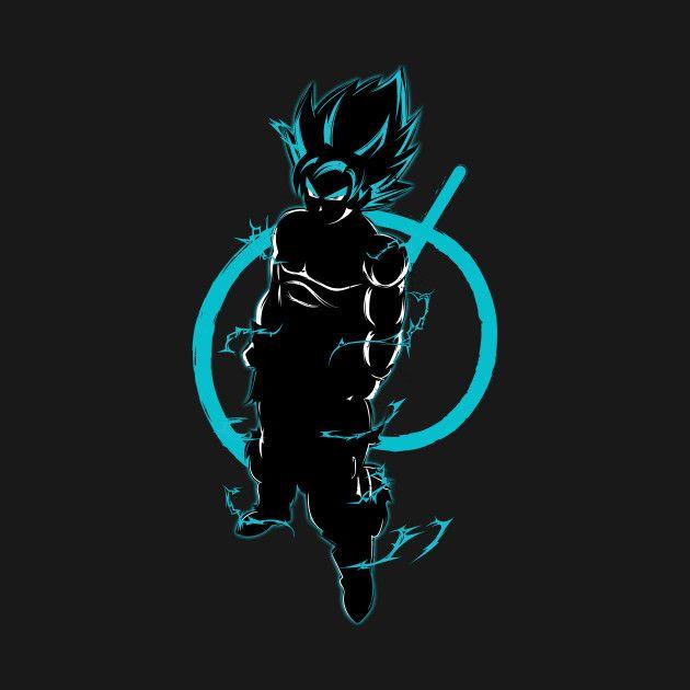 Awesome 'Super+Saiyan+Goku+God+-+TS00174' design on TeePublic!