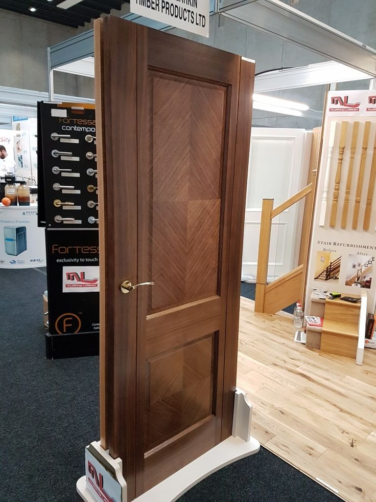 Amazing Walnut door by Murphy Larkin