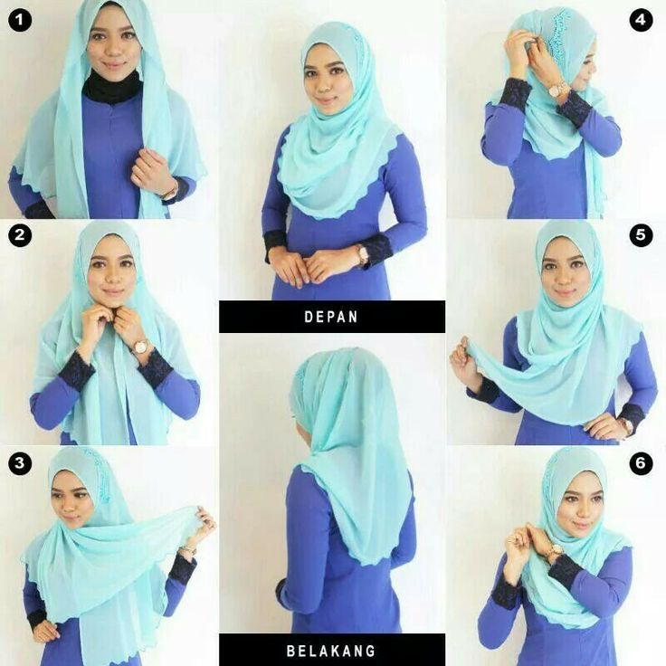 Tutorials on How To Wear Hijab Everyday - hijabiworld