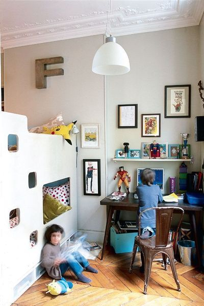 1000 images about bed on pinterest kid beds childs bedroom and bunk bed designs - Amenager un petit garage en chambre ...
