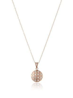 68% OFF Belargo Basket Weave Pendant Necklace