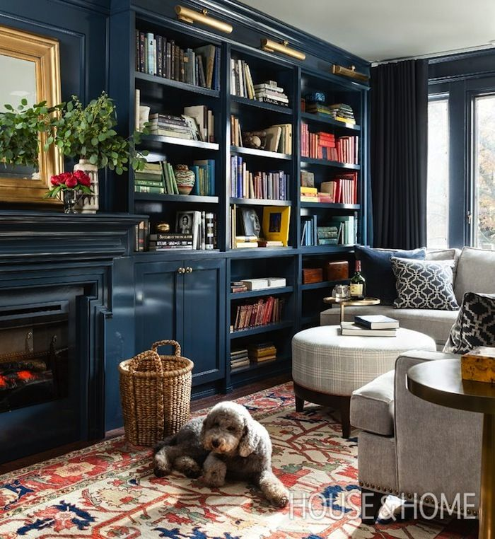Jill Sorensen-Live Like You | Design Obsession – The blue Library | http://jillsorensen.com/livelikeyou