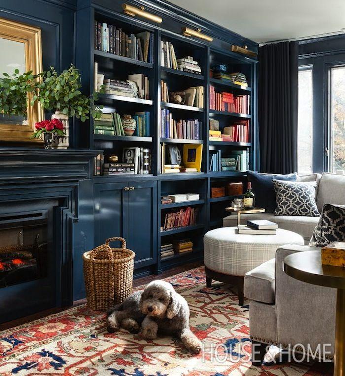 Jill Sorensen-Live Like You | Design Obsession – The blue Library | http://jillsorensen.com/livelikeyou