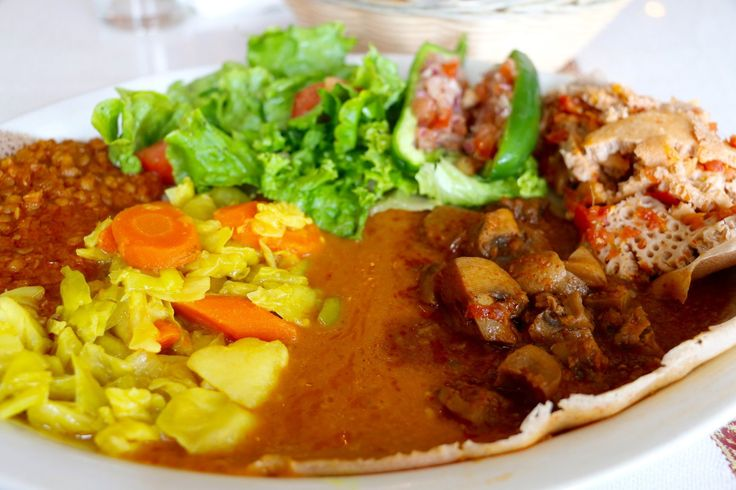 From wat (stew) to tibs (sautéed meat and vegetables) and spices ranging from mild (mitmita) to spicy (berbere), these seven spots deliver on traditional Ethiopian flavors.